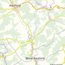 Fränkische Schweiz Karte.Fränkische Schweiz übersichtskarte Der Sehenswürdigkeiten