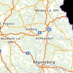 Karte Oberfranken Unterfranken Mittelfranken.Frankenkarte